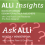 Ask ALLi and ALLi Insights Combo Logo