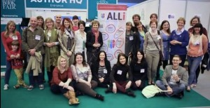 Members of the Alliance of Independent Authors at London Book Fair 2014